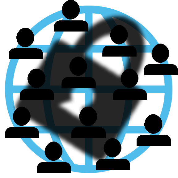 Connected People On Secure Network